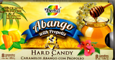 Abango with Propolis Hard Candy / 5 Packs with 8  candies of 0,13 oz each
