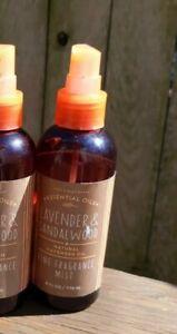 Bath Body Works Lavender & Sandalwood Essential Oils Fine Fragrance Mist READ