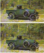 1928 Ford Model A Pickup Truck Postcard - lot of 2 - Must See!!