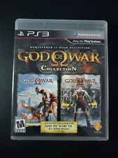God of War Collection 1 2 I II Black Label Playstation 3 PS3 LN perfect COMPLETE