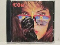 Icon - Right Between The Eyes 1989 MegaForce Atlantic Records Rare OOP HTF