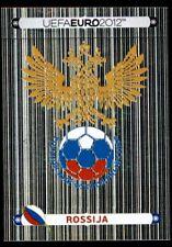 Panini Euro 2012 (Swiss Platinum Edition) Badge (Russia) No. 108