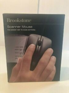 Brookstone Scanner Mouse New in Package