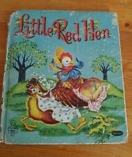 Little Red Hen (illustrated by Beth Wilson) 1953..A Whitman Tell A Tale