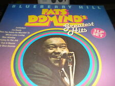 Fats Domino - Blueberry Hill - Greatest Hits GER 3LP over 30 songs ex plus