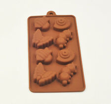 Chocolate Forest Bugs Silicone Fondant Mould Cake Decorating Baking Mold Tool