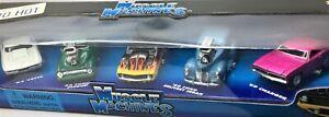 Muscle Machines 5 Pack* 63 Vette-56 Ford-69 Dodge-Camaro-40 Ford Van * 1:64