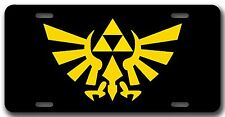 L@@K! The Legend Of Zelda Triforce License Plate Vanity Auto Tag Zelda Universe