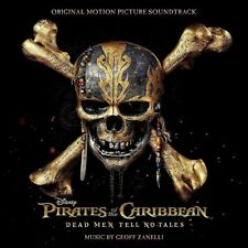 PIRATES OF THE CARIBBEAN 5 - ORIGINAL SOUNDTRACK (GEOFF ZANELLI)  CD NEU