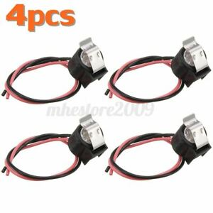 4X Refrigerator Defrost Bimetal Thermostat Replacement For Whirlpool W10225581