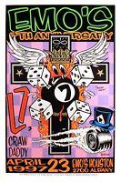 L7 Concert Poster 1997 Kozik Emo's