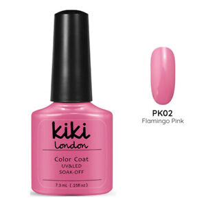 Flamingo Pink - Premium UV/LED Soak Off Gel  Nail Polish FREE 1st Class P&P!