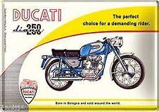 Nostalgic Art Blechpostkarte Ducati Diana 250 Born in Bologna Italien #