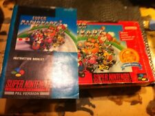 snes supermario kart BOX AND INSTRUCTIONS ONLY,NO GAME.