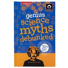 Einstein Genius Science Myths Debunked Book Fun Fact Trivia Kids Stocking Filler
