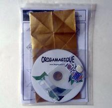 Tour de magie pour enfant Origamagique à base d'origami et de pliages.