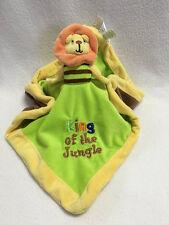 Baby Essentials Lion Monkey Reversible Flip Security Blanket King Jungle Read