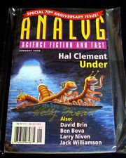 ANALOG MAGAZINE SIGNED BY KELLY FREAS 2000/01 FINE