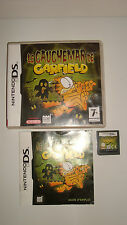 Game Nintendo DS DS Lite Dsi XL The Nightmare Garfield Complete