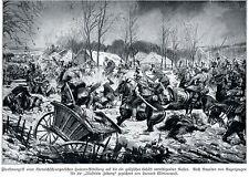 1915 Österreich-ungarische Husaren treffen in Galizien auf Russen * WW 1