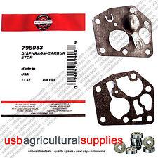 Briggs & Stratton diaphram Joint Carburateur 795083 495770-jour suivant del