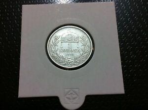 Hungary Korona, 1893, silver coin 0,835, 0,134 oz- FANTASTIC COIN !!!