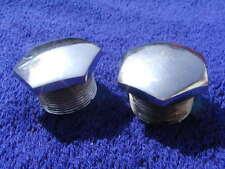 2 STAINLESS STEEL GRIS Tuercas superiores BSA A7 A10 A50 A65 B31 B33 C15