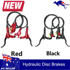 Hydraulic Disc Brakes Oil Disc For Mountain Bike MTB Cycling Front & Rear Set