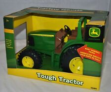 "John Deere Farm Toy Sandbox Tough 11"" Tractor Replica 1/16 scale Ertl Tomy New"