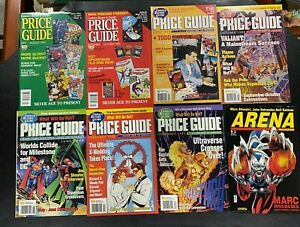 Comics Buyer's Guide Price Guide  Lot of 9  1992 Annual + Arena - Gaiman  Spawn
