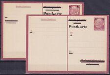 DR P 244 * Ganzsache mit Frage u. Antwortteil, GA Deutsches Reich