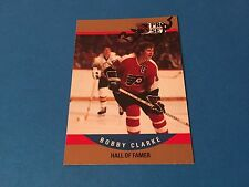 Bobby Clarke HOF Flyers 1990-91 Pro Set Signed Auto Card