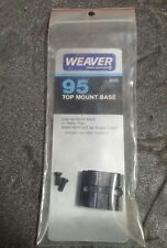 Weaver #95 Top Mount Base for Winchester 94 Angle Eject, 48095