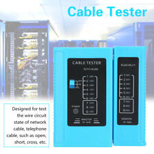 RJ45 RJ11 Network Cable Tester Ethernet LAN Network Test Tool Blue