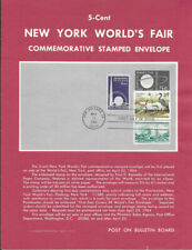 #U546 5c New York World's Fair Envel. Poster - Unofficial Souvenir Page Ft w/FDC
