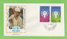 First Day Cover Qatar Stamps