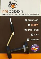 RITE BOBBIN - SHORTY SIZE - FLY TYING TOOL - MADE IN THE USA - CERAMIC TUBE