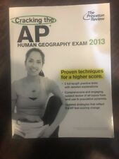 AP Human Geography Exam2013 Edition by Princeton Review (2012, Paperback)