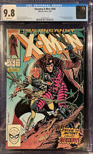 Uncanny X-Men #266 CGC 9.8 White Pages- First Appearance Of Gambit Marvel MCU