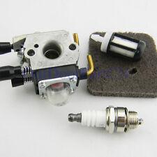 For STIHL FS45C FS45L FS55C FS55T FC55 trimmer carburetor air Filter Spark Plug