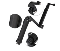 New 3-Way Adjustable Bracket Hand Grip Arm Camera Mount for GoPro Hero