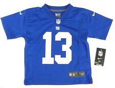 Boys Nike NY Giants Odell Beckham Jr Football Jersey Blue on Field NFL Size  S 4 4684a787f