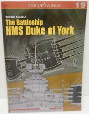 Kagero Publishing - Top Drawings 19 - The Battleship HMS Duke Of York        New