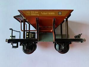 Märklin 1767 Spur 0 Schotterwagen Talbot