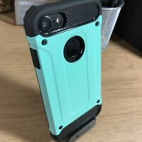 Apple iPhone 7 Case Impact Resistant High Density Metallic Shell Rugged Green