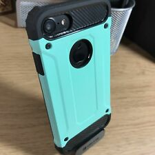 iPhone 7 Rugged Tough High Density Case Impact Displacement System Bumper Green