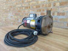 Price 1/2 HP Water Circulator Bronze Pump Baldor Motor 115 / 230 V Single Phase
