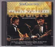 EVERLY BROTHERS-STAR COLLECTION THE REUNION CONCERT 2 CD'S NEUWERTIG!