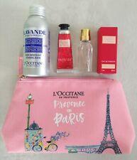 L'Occitane Gift Set3 pieces + pink pouchRose Lavande - Paris Limited Edition