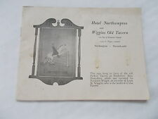 An Old Booklet of Hotel Northampton & Wiggins Old tavern, Massachusetts